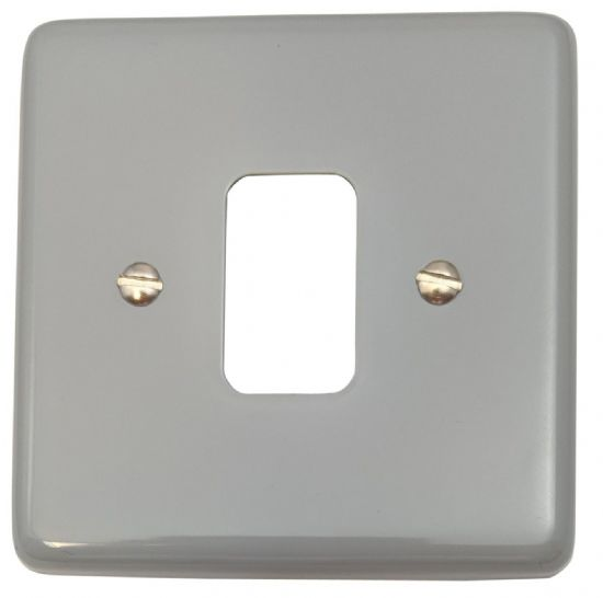 G&H Standard Plate Light Grey